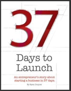 37 Days to Launch Cover